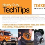 Guidelines for Monitoring Wheel-End Setting in Adjustable Wheel Bearing Systems -Timkin