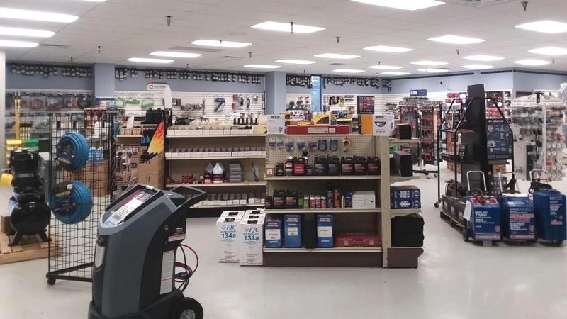 Truck Parts Store Showroom