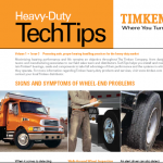 Signs and Symptoms of Wheel-End Problems – Timken
