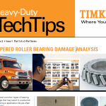 Tapered Roller Bearing Damage Analysis Timken