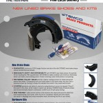 Stemco New Steel Brake Shoes